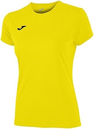 Joma Combi Woman M/C Camiseta Deportiva para Mujer de Manga Corta y Cuello Redondo: Amazon.es: Zapatos y complementos