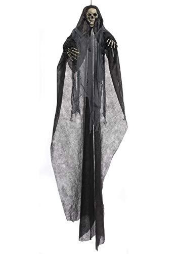 (Forum Novelties 73648 Promotional Hanging Skeleton, Black/Gray, One Size, Pack of 1)