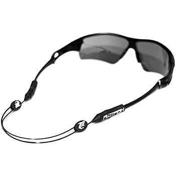 TAGVO Eyeglass Soft Case with Adjustable Eyewear Retainer Ultra Light Neoprene Zipper w//Belt Clip Sunglasses Case Eyeglasses Strap Set