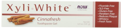 NOW Foods XyliWhite Cinnafresh Gel Dentifrice 6,4 Onces