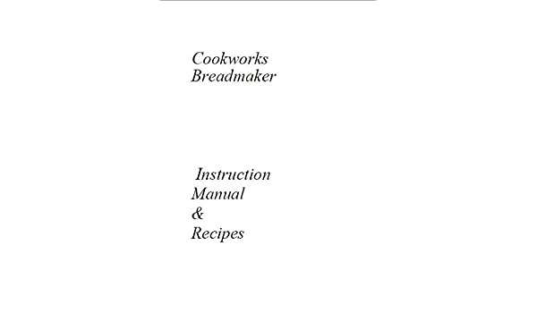 Cookworks - Cazuela Pan máquina eléctrica manual de instrucciones ...