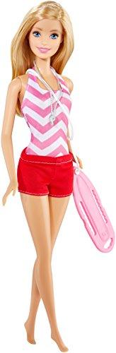 Barbie Careers Lifeguard Doll (Summer Doll Barbie)