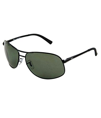 61c71fd3c95 Ray-Ban RB3387 002 9A Aviator Wrap Polarized Size 64 Sunglasses  Amazon.in   Clothing   Accessories