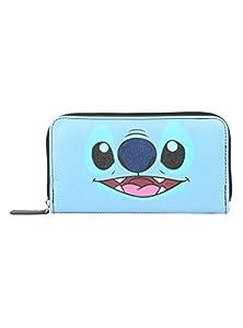Disney Lilo & Stitch Scrump & Stitch Faux Leather Zipper Wallet