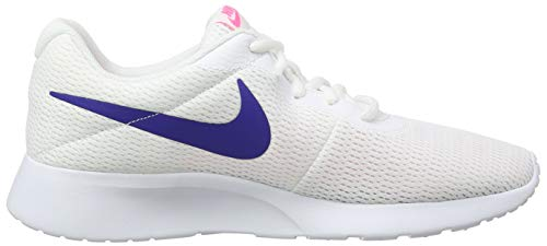 Nike Women's 103 Pink laser Tanjun White Trainers White Concord z1zHr