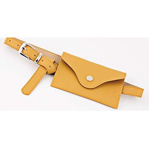 5 5 Mini Cm B Cuir Taille Baosity Femme Jaune X Banane Sac 11 17 En Artificiel HWvROnv