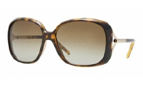 Burberry Women's BE4068 Sunglasses Tortoise / Brown Gradient - Ladies Sunglasses Burberry