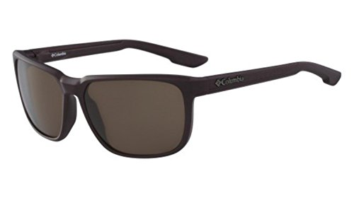 Columbia Men's Trail Warrior Rectangular Sunglasses, Matte New Cinder, 60 - Columbia Sunglasses