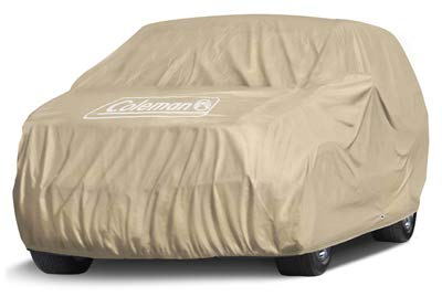 Coleman Premium Executive SUV Cover -  Indoor-Outdoor Cover Waterproof/Dustproof/Scratch Resistant/UV Protection for Vehicles up to 190