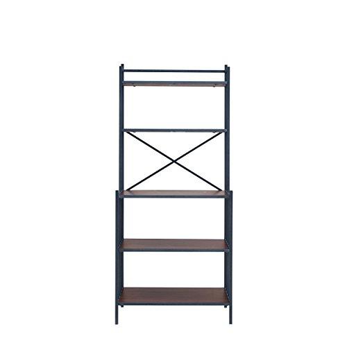 Furniture HotSpot – Bakers Rack – Rustic Gray w/ Dark Distressed Pine - 29