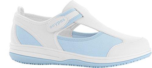 OXYPAS Candy - Calzado de protección Mujer Blue (Lbl - Light Blue)