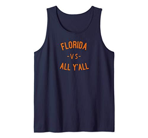 - Florida VS All YALL T-shirt Represent Gator State Tank Top