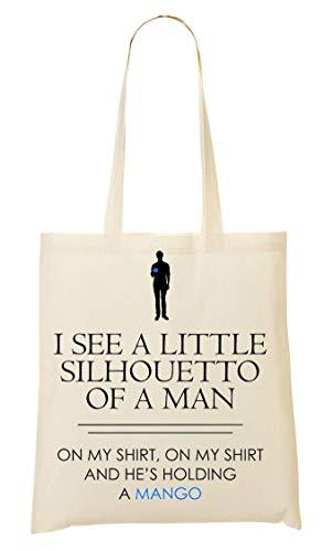 maniglia della della borsa della tenuta borsa della una spesa spesa piccola dell'uomo della sagoma Vedo della 71wqTHX