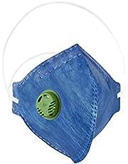 Máscara Proteção Respiratória DeltaPlus PFF3 S Com Válvula CA 38.505 Filtração 99% FPP3 - SOS Mascaras - FBA
