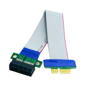 ChenYang PCI-E Express 1X Slot Riser Card Extender Extension Ribbon Flex Relocate Cable 20cm