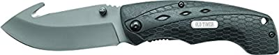Old Timer 2148OT Copperhead Gut Hook Liner Lock Folding Knife