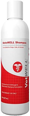 KetoWELL Ketoconazole Chlorhexidine Shampoo Dogs product image