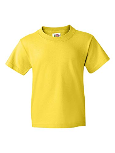 Fruit of the Loom Heavyweight Youth Short Sleeve T-Shirt - Y