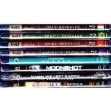 The History Channel Expedition Africa , Expedition Alaska , Moonshot , When We Left Earth , Discovery Channel Travel Atlas : Italy , China , Brazil , Australia : Complete Tour of the World and a Trip to the Moon : 8 Pack , 9 Discs Total : Blu-ray Bundle DVD SET