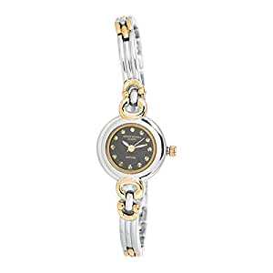 Mount Royale Fidha Collection Women's Black Dial Brass Band Watch - 2025