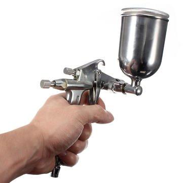Price comparison product image K3 Spray Gun - Spray Air Gun - 0.5mm HVLP K3 Gravity Feed Air Spray Gun Sprayer Alloy Painting Tool ( Paint Spray Gun )