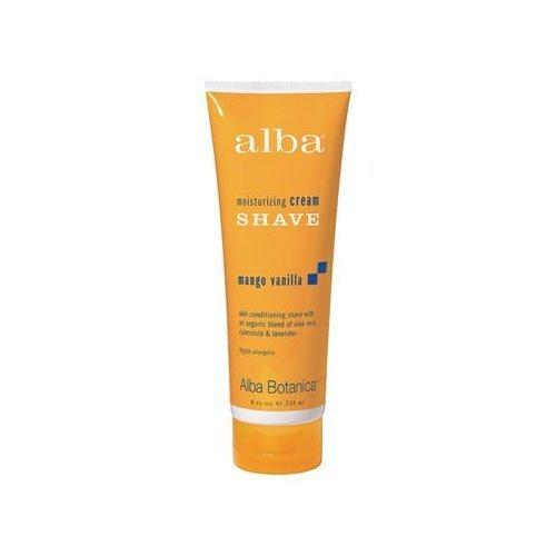 - Alba Mango Vanilla Moisturizing Shave Cream, 8 Ounce -- 6 per case.