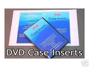 dvd case insert