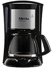 ماكينة تحضير القهوة 1000 وات فريش برو من ميانتا CM31216A، اسود