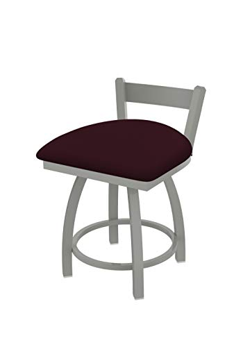 Holland Bar Stool Co. 82118AN005 821 Catalina Low Back Swivel Vanity Bar Stool, Canter - Trica Bar Leather Stool