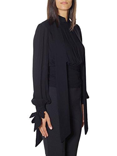 2019 Mainapps 110 Fall 2018 winter Camicia nero Franchi Elisabetta Donna xw8Yq010