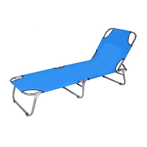 Zheng Folding Bed Single Outdoor Office Siesta Nap生徒のベッドスチールベッド B074FXSVDW I  I