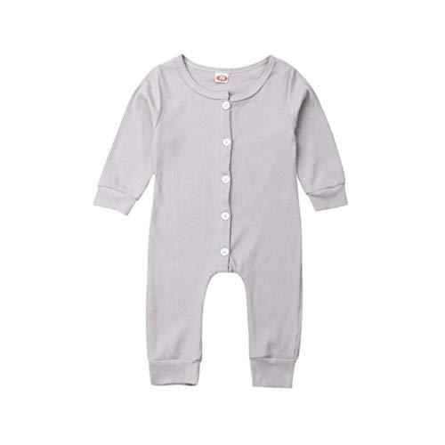 Newborn Infant Unisex Baby Boy Girl Long Sleeve