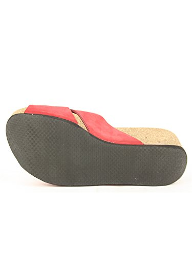 FRAU Fashion Women's Rosso Sandals DONNA ErSXwq5r