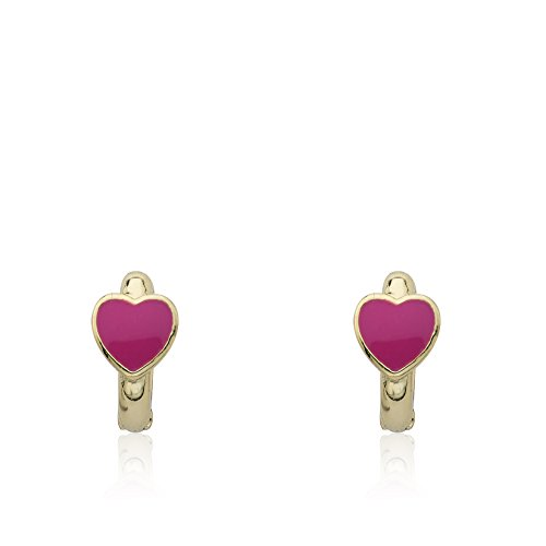 Little Miss Twin Stars 14k Gold-Plated Huggy Earring by Little Miss Twin Stars (Image #4)