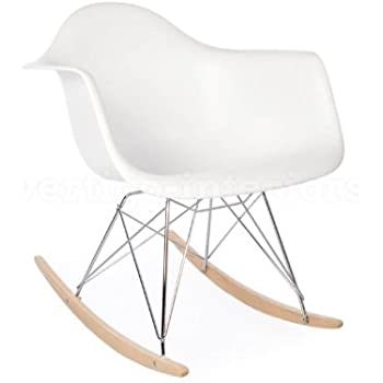 eames rocking chair dimensions replica nz review high quality style arm lounge white