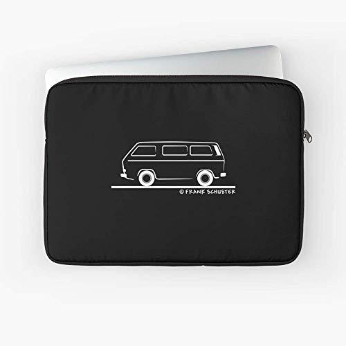 (Vanagon Caravelle Transporter Laptop Sleeve - Fits Most Slim laptops.)