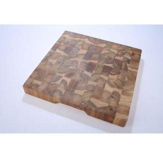 Extra Large Square Butcher/'s Block Chopping Board 35cm x35cm x 4cm