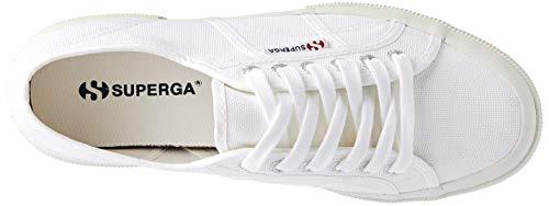 Classic white F95 Superga Adulto Blanco cotu gum 2750 Entrenadores Unisex Bajos ABOZqB
