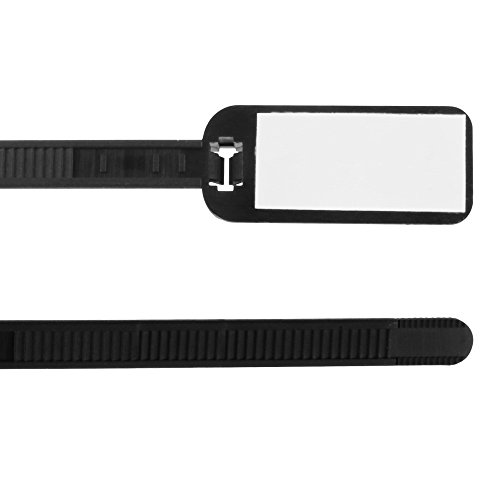 (Write-On 3 Inch Long Cable Ties, Pack of 100)