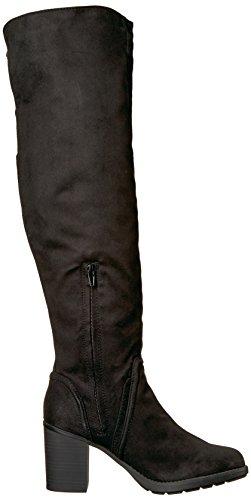 Black Micro Boot Over Knee Women's Prodigy Sugar SGR The 8Wxpq7Bg0w