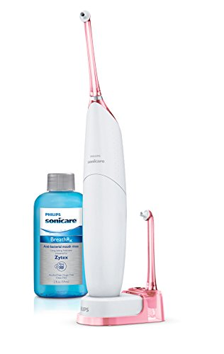 New and Improved Philips Sonicare Airfloss Ultra, Pink (Philips Sonicare Airfloss Pro Rechargeable Electric Flosser Pink)