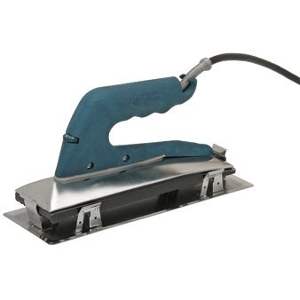 Heat Bond Carpet Seaming Iron with Heat Shield, Grooved Nonstick Teflon Base and 9 feet Power Cord