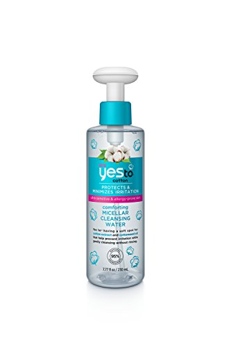 Cotton Water (Yes To Cotton Comforting Micellar Cleansing Water, 7.77 Fluid Ounce)