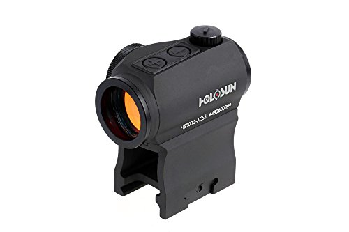 Holosun Paralow HS503G Micro Red Dot Sight ACSS CQB Reticle with Auto-On Function (Best Red Dot Magnifier For The Money)