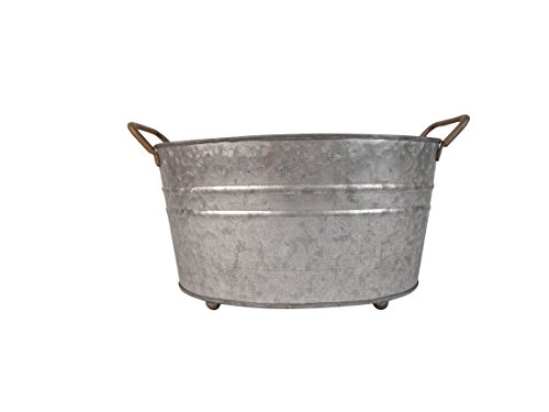 Craft Outlet Tin Wash Tub, 10.75 x 7.25 x ()