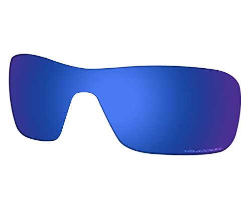 Saucer Premium Replacement Lenses for Oakley Turbine Rotor OO9307 Sunglasses High Defense - Midnight Blue ()