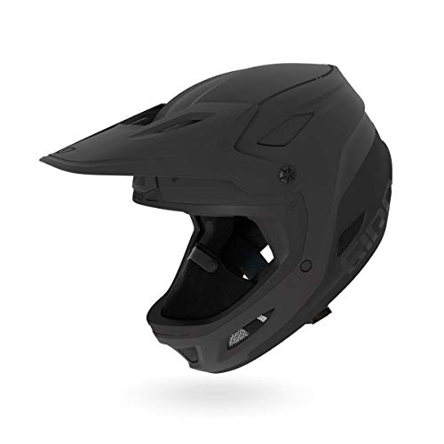Snow Replacement Chin Curtain - Giro Disciple S MIPS Full Face Snow Helmet Matte Black MD 55.5-59cm