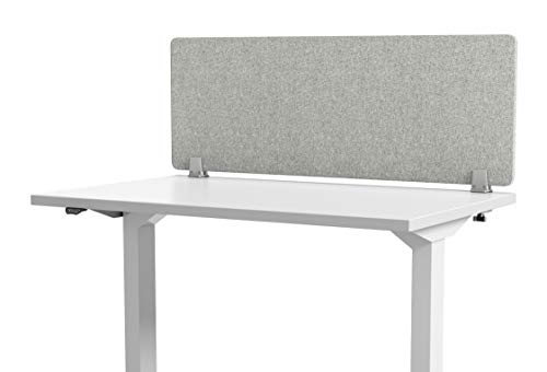 VaRoom Acoustic Desktop Privacy Divider, 48