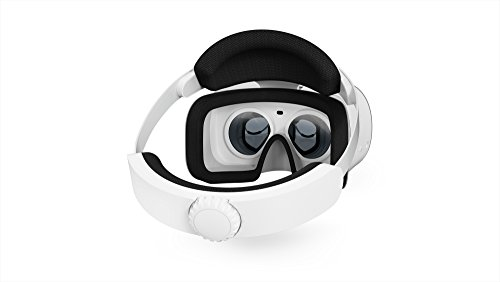 Lenovo - Mirage Solo with Daydream Virtual Reality Headset - Moonlight White