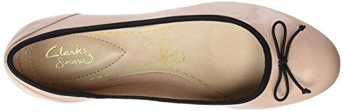 Beige WoMen Bloom Nude Clarks Couture Pink Pink Lea Loafers wfqnFnRdX
